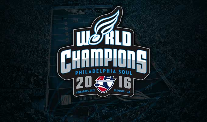 Philadelphia Soul 2016 World Champions