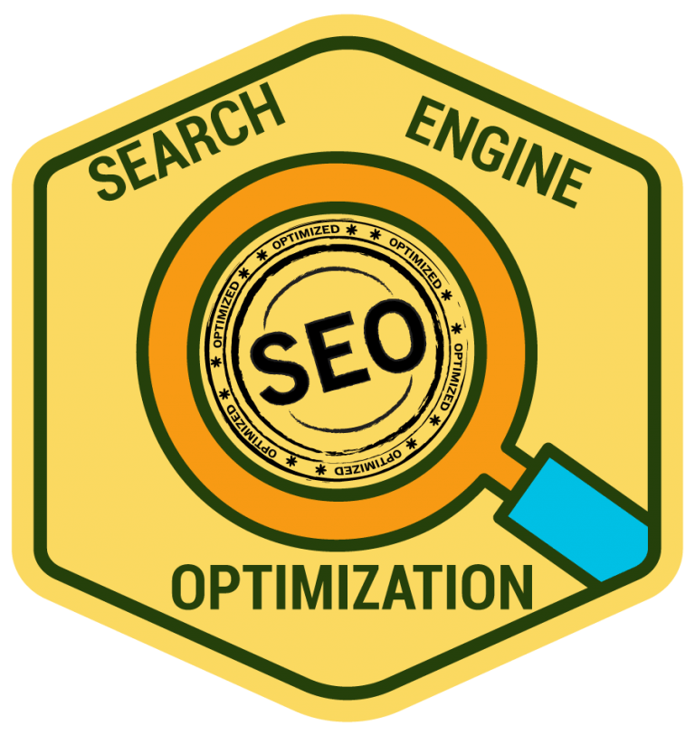 A graphic representing SEO in Philadelphia, PA