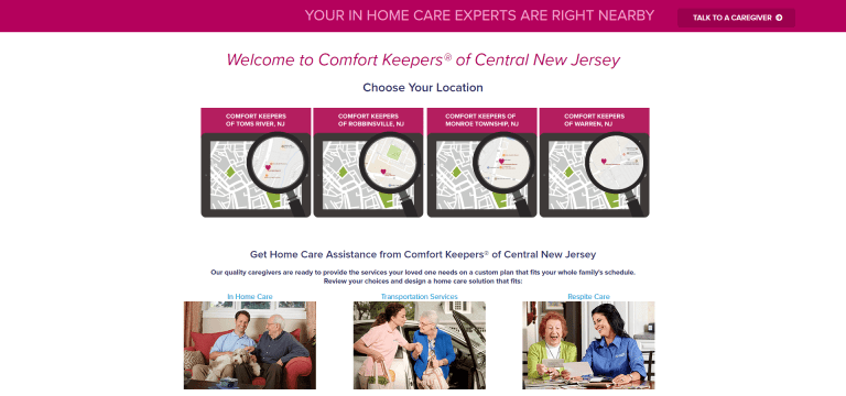 Comfort Keepers New Jersey
