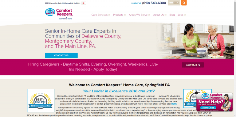 Comfort Keepers Springfield