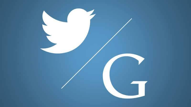 seo marketing - google and twitter